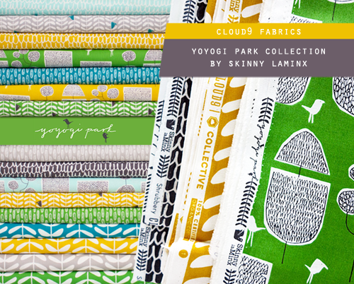 Cloud9 Fabrics Yoyogi Park Collection by Skinny laMinx