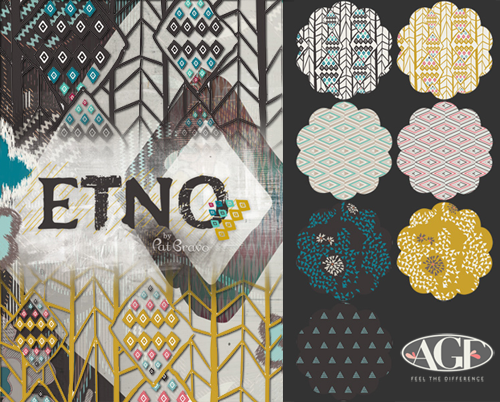 Art Gallery Fabrics Etno Collection by Pat Bravo