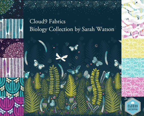 本日入荷 Cloud9 Fabrics Biology Collection