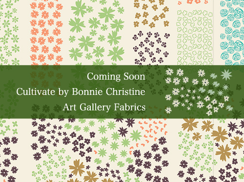 Art Gallery Fabrics Cultivate Collection