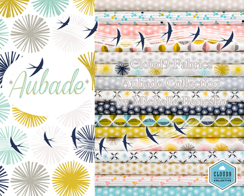 Cloud9 Fabrics「Aubade Collection」入荷!