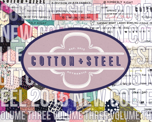 販売開始 COTTON+STEEL 2015 NEW COLLECTION