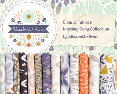 Cloud9 Fabrics Morning Song Collection