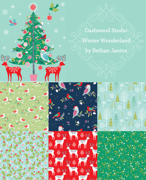 新入荷 Dashwood Studio Winter Wonderland クリスマス生地