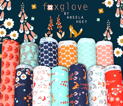 販売開始 Cloud9 Fabrics Foxglove Collection