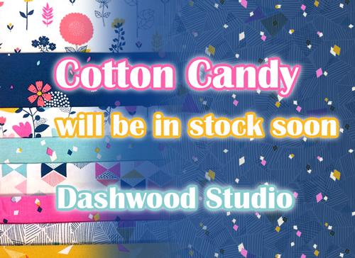 近日入荷予定 Dashwood Studio Cotton Candy Collection