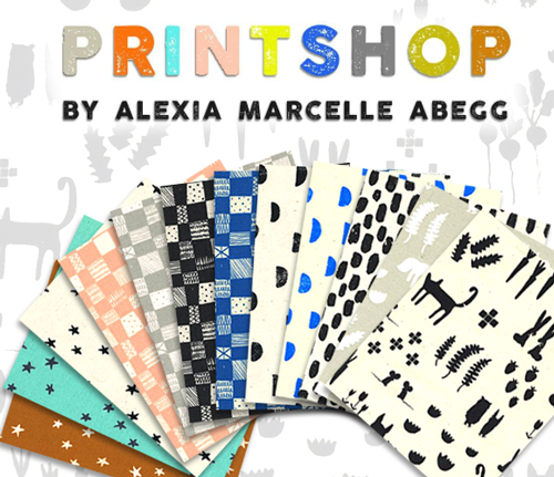 COTTON+STEEL Print Shop Collection by Alexia Marcelle Abegg
