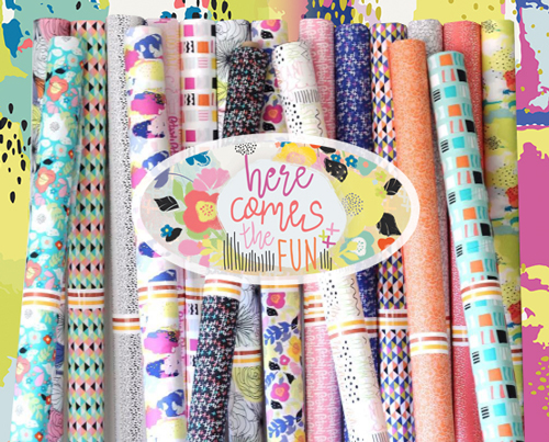 Art Gallery Fabrics Here Comes The Fun Collection