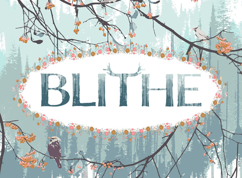 こちらも近日入荷 Art Gallery Fabrics Blithe Collection