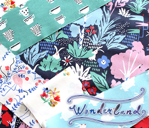 販売開始 Birch Fabrics Wonderland Collection