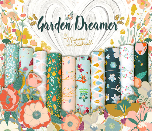 "新入荷 Art Gallery Fabrics ""Garden Dreamer Collection"""
