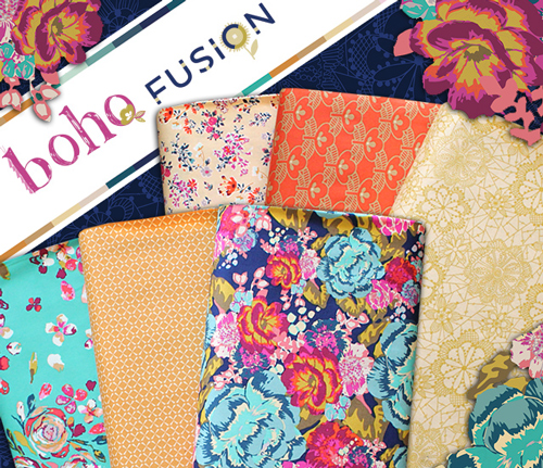 Art Gallery Fabrics Boho Fusion Collection by AGF Studio