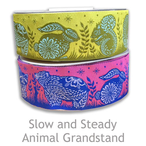 輸入リボン2アイテム入荷 Renaissance Ribbons Animal Grandstand