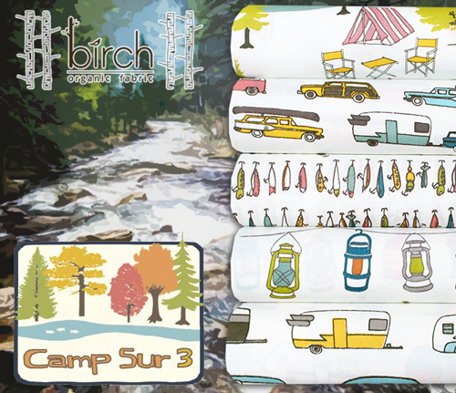 新入荷 Birch Fabrics Camp Sur 3 Collection