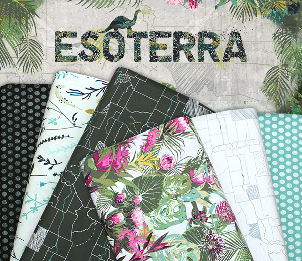 Art Gallery Fabrics Esoterra Collection by Katarina Roccella