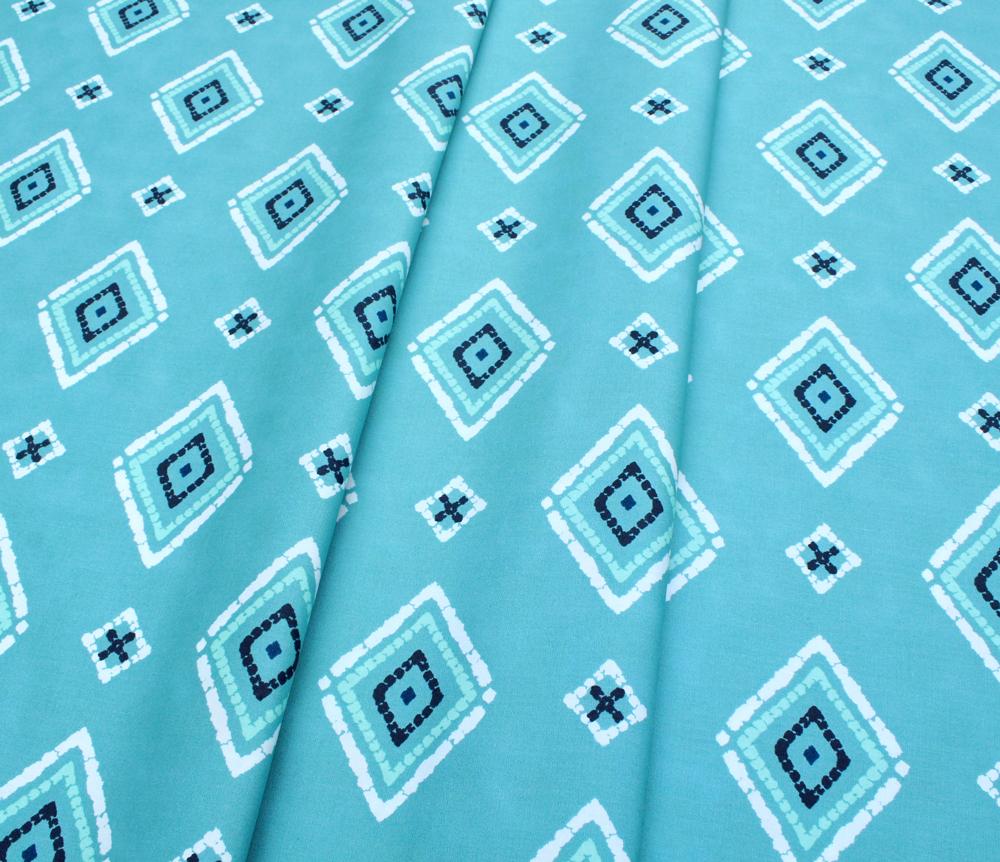 Art Gallery Fabrics Mediterraneo Zanafi Aqua