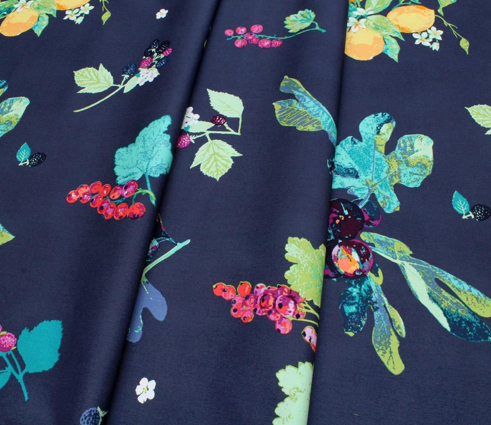 Art Gallery Fabrics Mediterraneo Frutteria Bleu