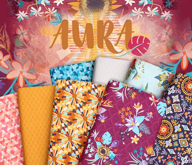 Art Gallery Fabrics Aura Collection 入荷
