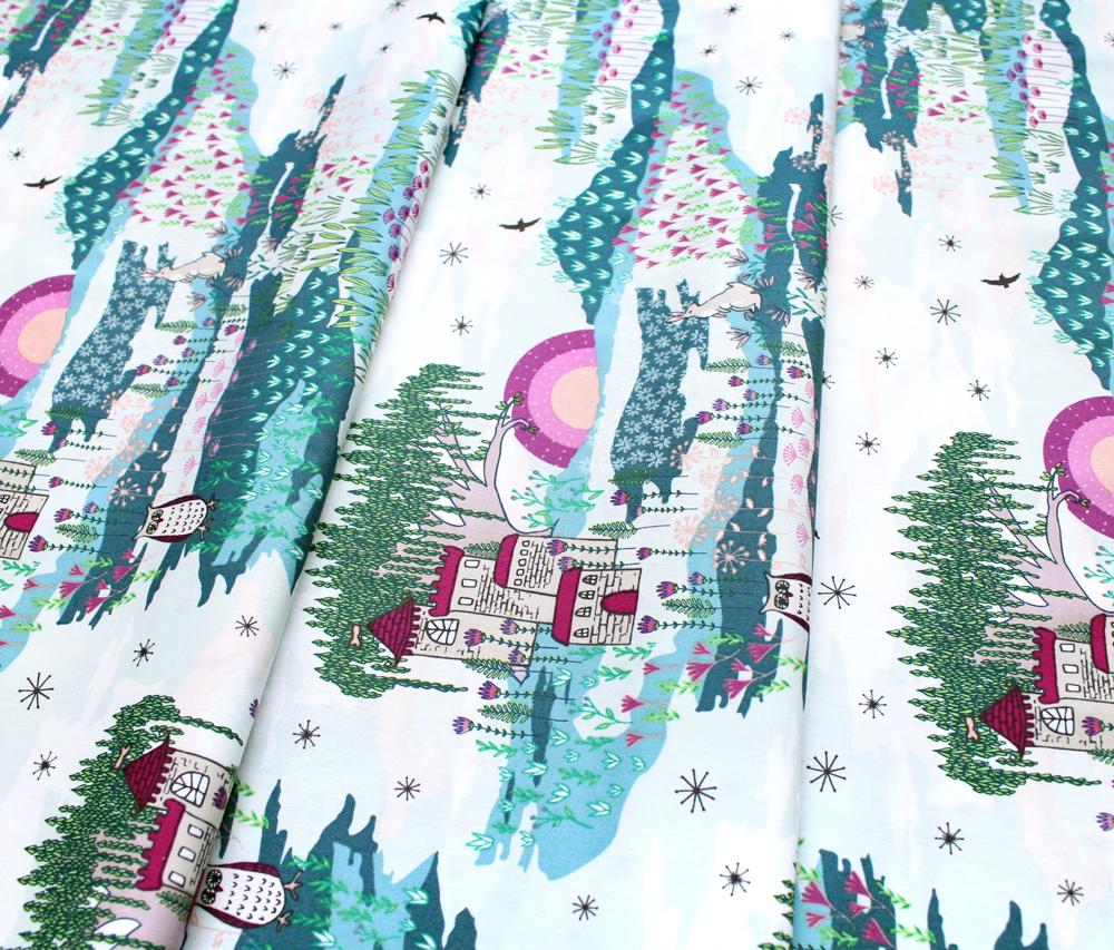 Art Gallery Fabrics Flower Child Enchanted Meadow
