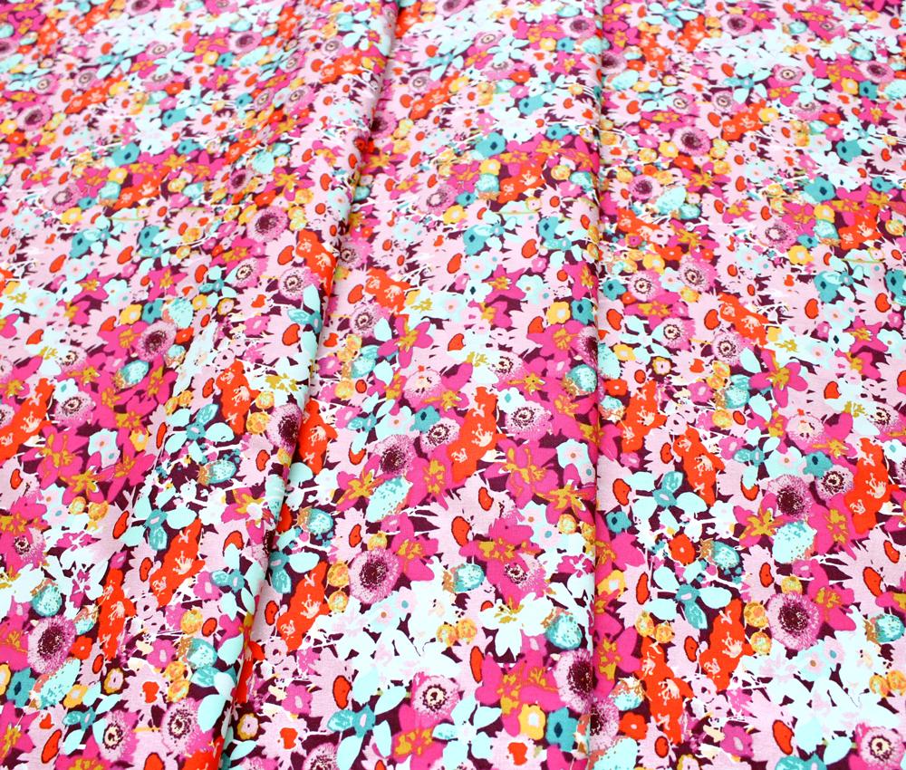 Art Gallery Fabrics Splendid Fusion Flowered Medley Splendid