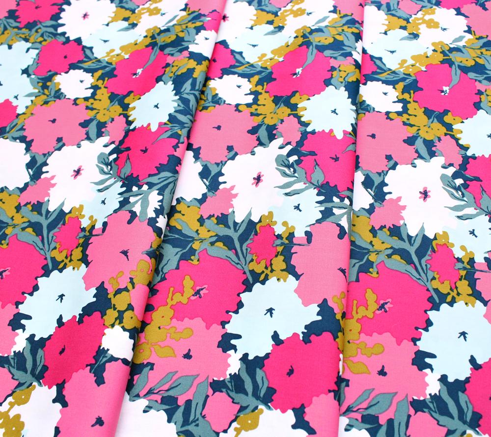 Art Gallery Fabrics Splendid Fusion Petally Splendid
