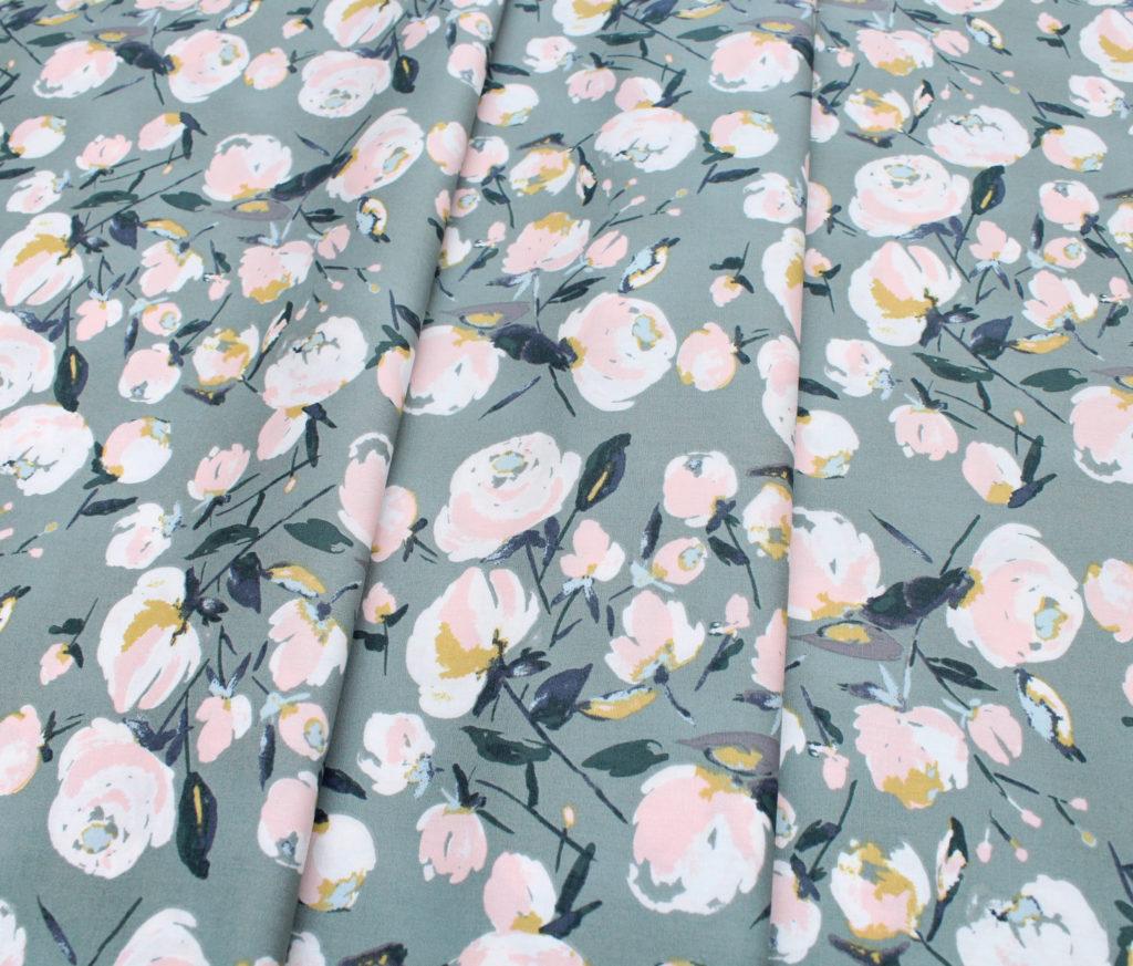 Art Gallery Fabrics Sparkler Fusion Everlasting Blooms Sparkler