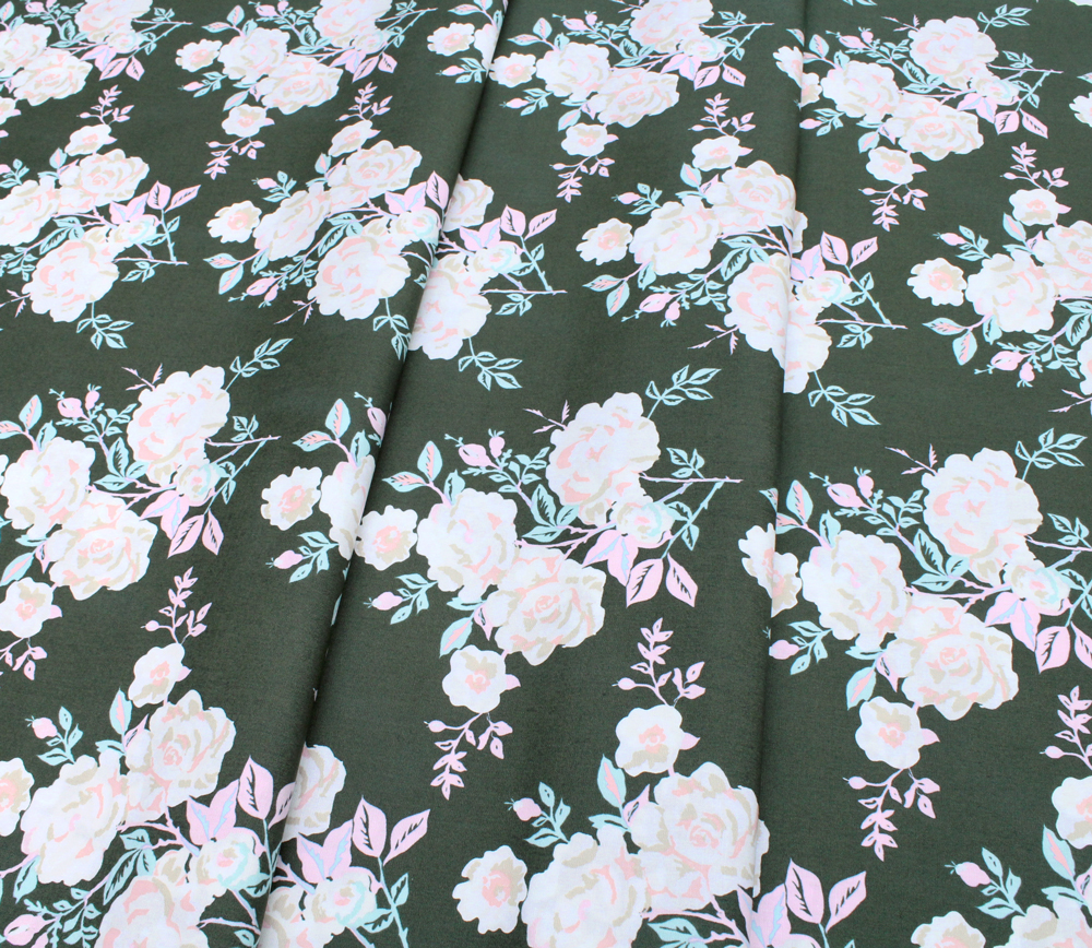 Art Gallery Fabrics Signature A Rose is a Rose Forever