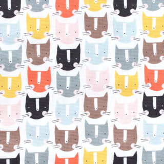 Dashwood Studio Emi & The Bird EMO 1403 Cats Ecru