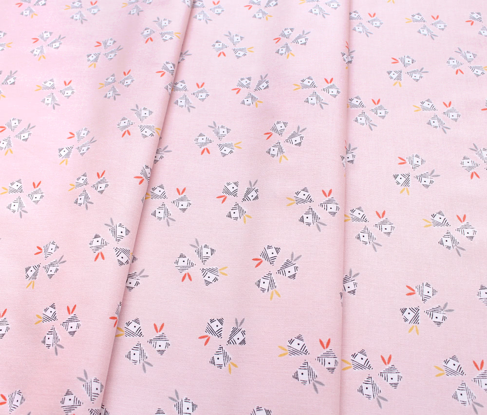 Dashwood Studio Emi & The Bird EMI 1408 Floral Lt Pink