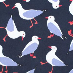 Nerida Hansen Fabrics - Seaguls by Jocelyn Proust Designs