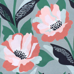 Nerida Hansen Fabrics - Carina Grey by Rachelle Holowko