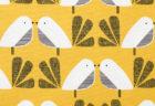 Dashwood Studio Nesting Birds NEST 1411 Mustard Birds