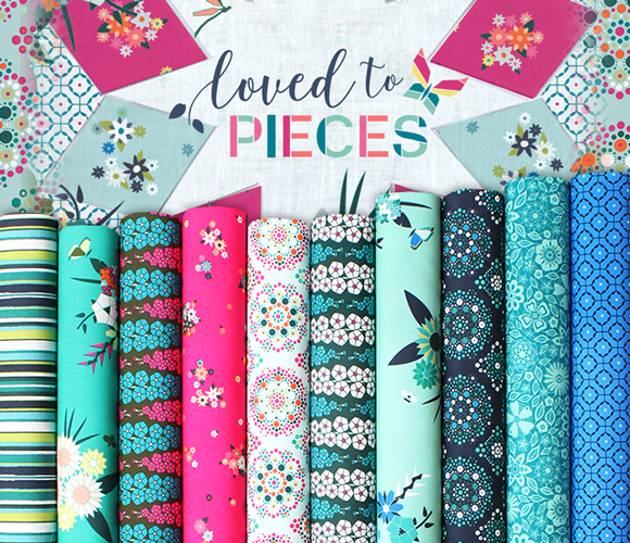 Art Gallery Fabrics Loved to Pieces Collection 入荷