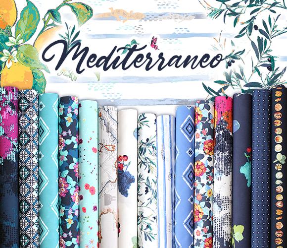 Art Gallery Fabrics Mediterraneo Collection 入荷