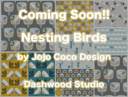 Dashwood Studio Nesting Birds Collection