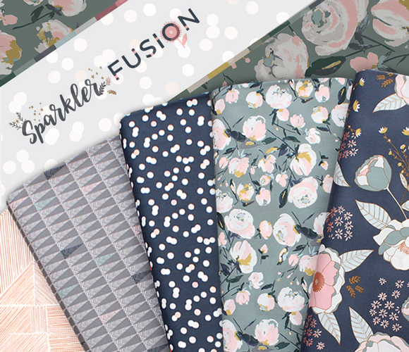 Art Gallery Fabrics Sparkler Fusion Collection 入荷