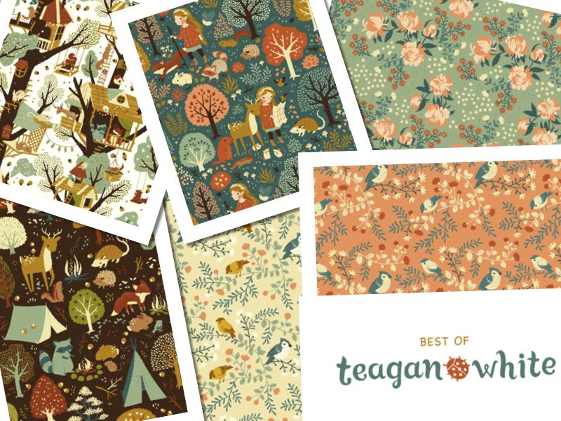 もうすぐやって来る!Birch Fabrics Best of Teagan White