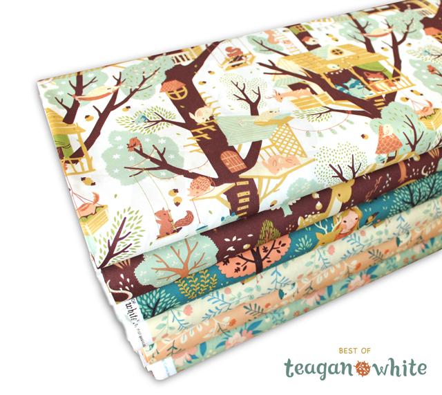 """カワイすぎる!Birch Fabrics """"Best of Teagan White"""" 来週発売"""