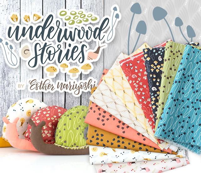 Cloud9 Fabrics Underwood Stories Collection 入荷
