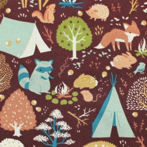 Birch Fabrics Best of Teagan White Critter Camp