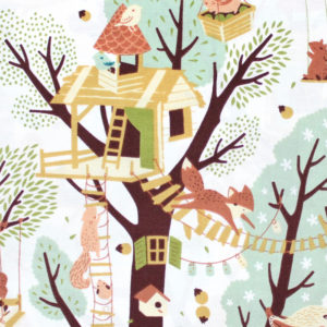 Birch Fabrics Best of Teagan White Tree Fort