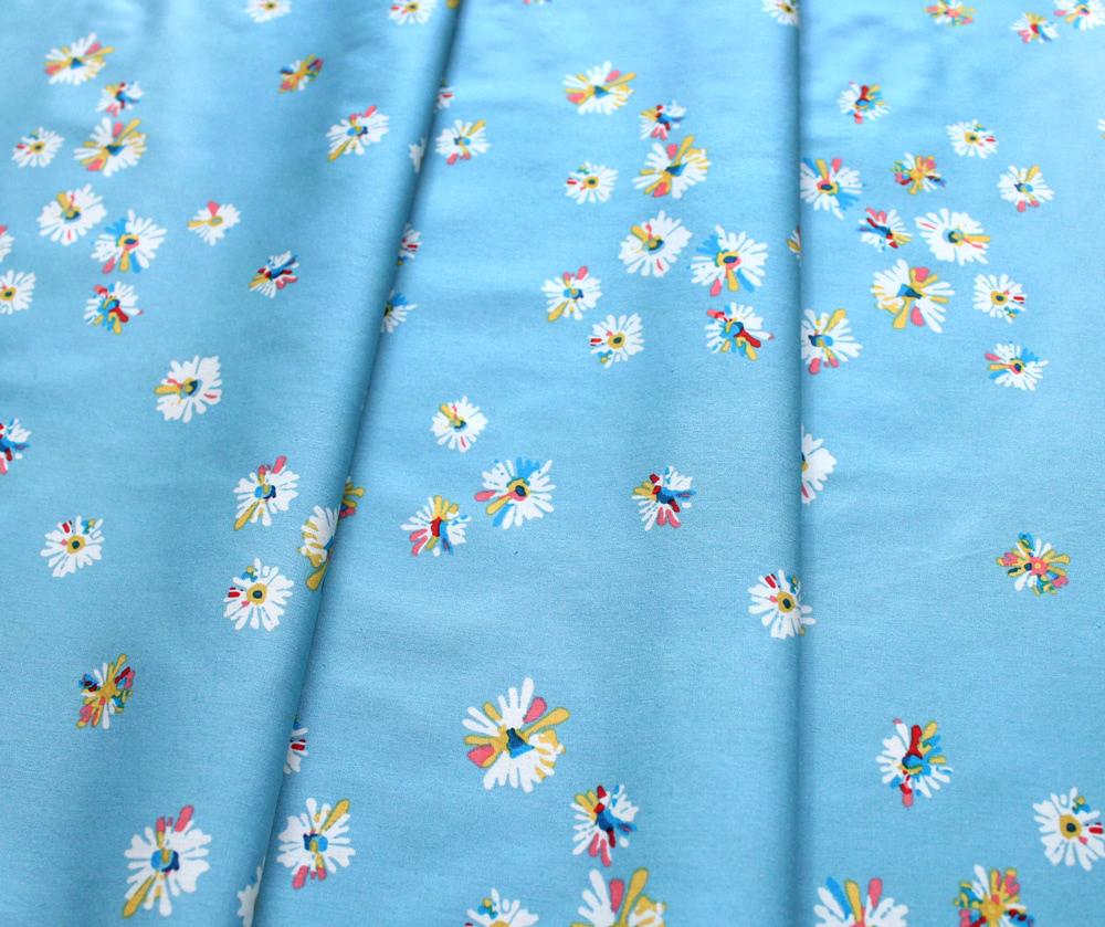 Art Gallery Fabrics Sun Kissed Hazy Daisies Sky