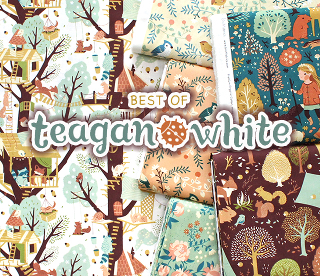 Birch Fabrics Best of Teagan White Collection 入荷
