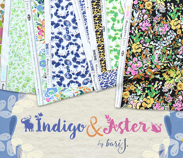 Art Gallery Fabrics Indigo & Aster Collection 入荷