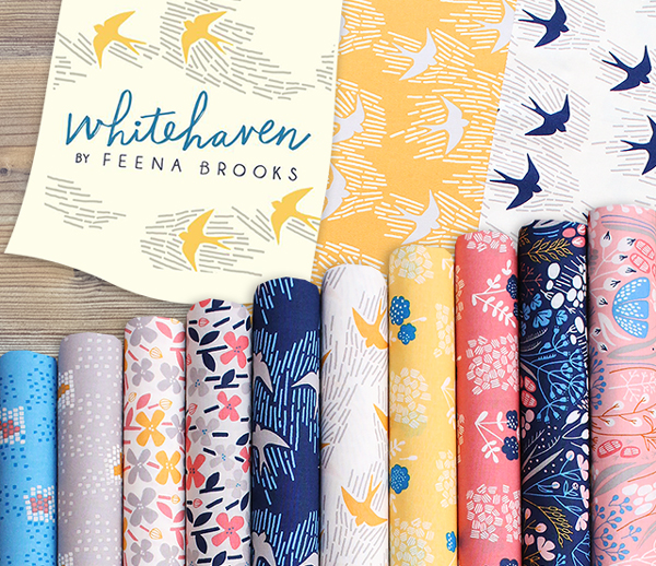 Cloud9 Fabrics Whitehaven Collection 販売開始