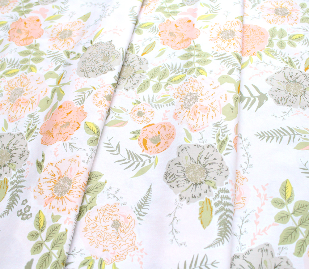 Art Gallery Fabrics Gathered Foraged Garland Peony