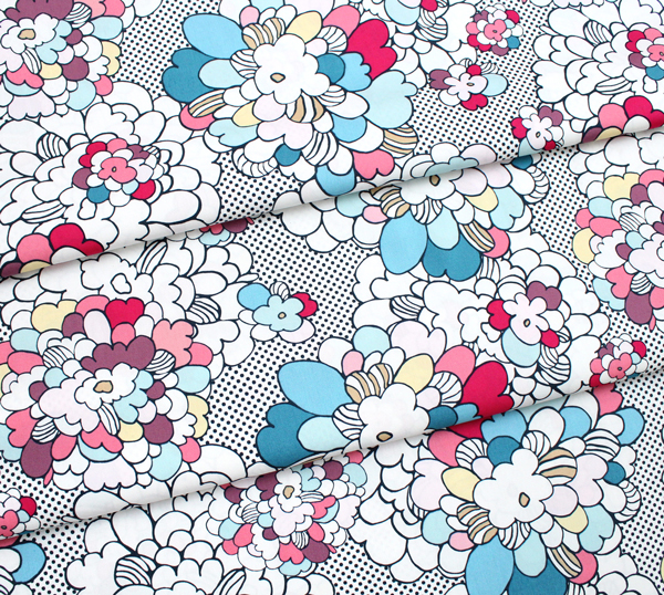 Art Gallery Fabrics Dare Pop Art Springblossom