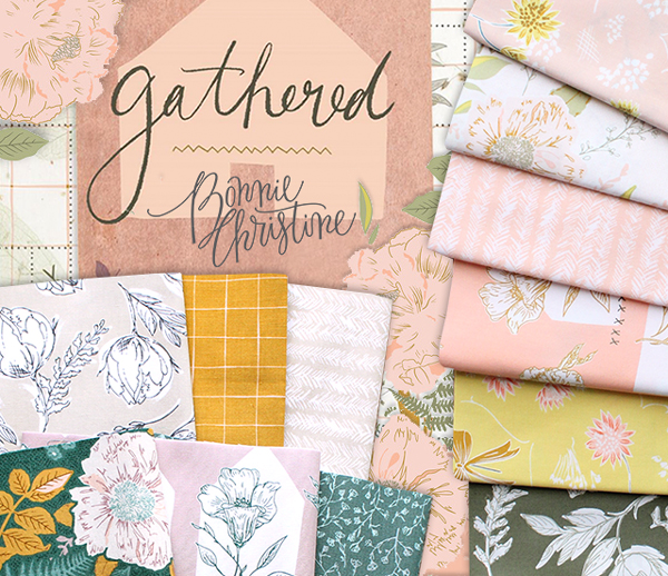 Art Gallery Fabrics Gathered Collection by Bonnie Christine