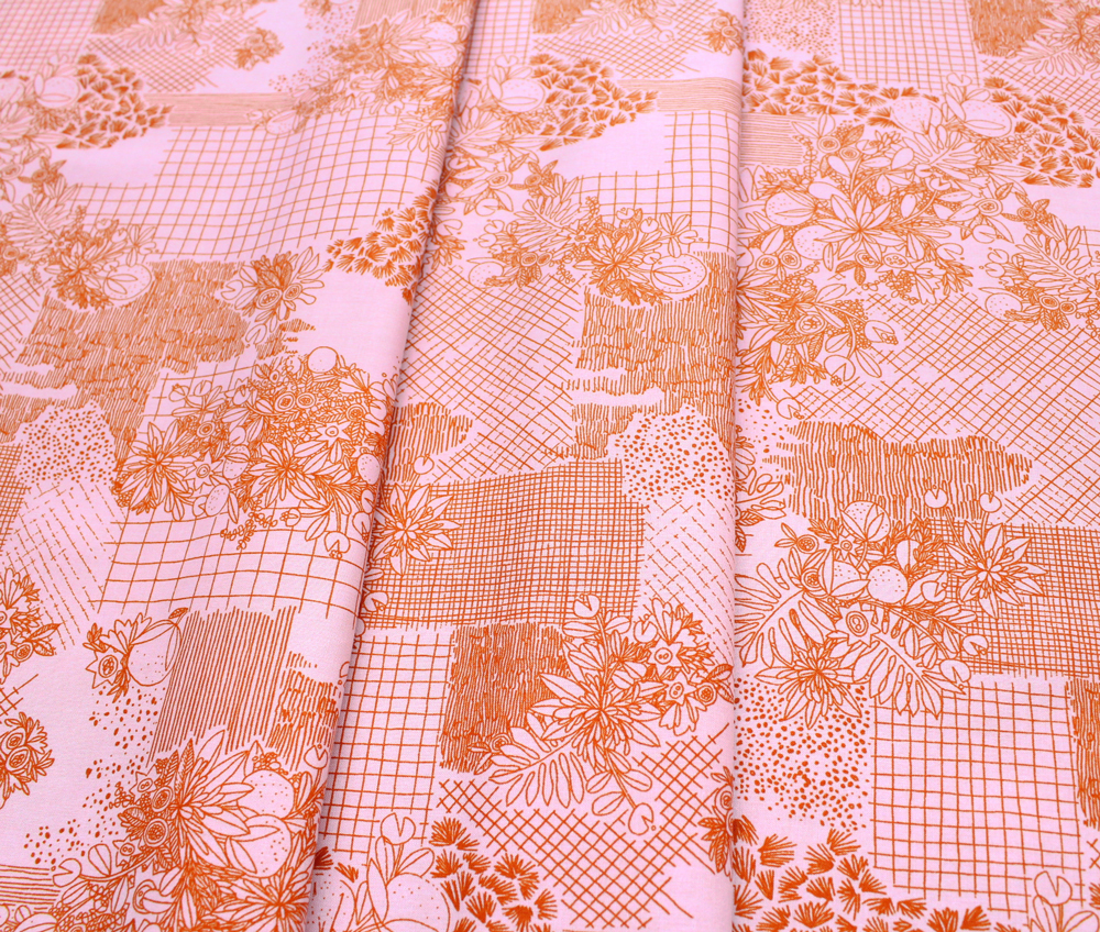 Cloud9 Fabrics Terrestrial 200901 Overgrowth Pink