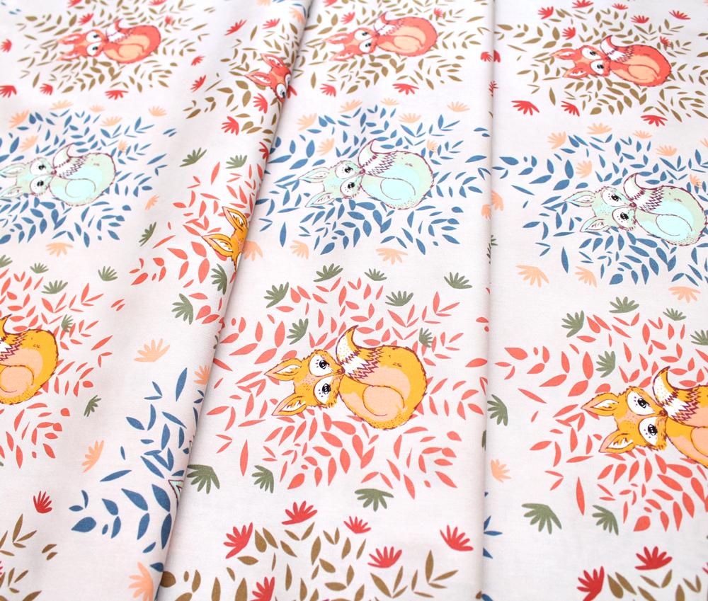 Art Gallery Fabrics Autumn Vibes Foxes in Fall
